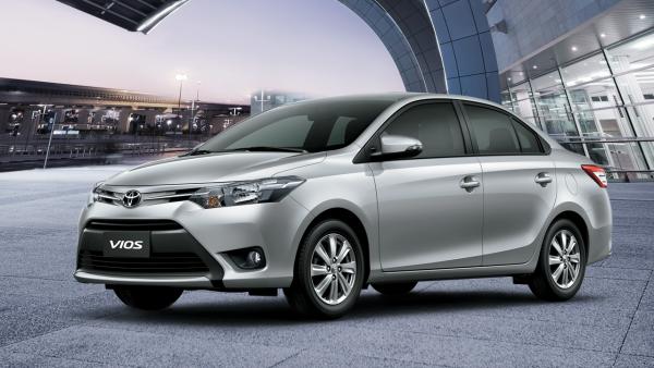 Toyota Vios 1.5E MT (số sàn) có giá 490 triệu đồng. Ảnh: toyotathainguyenvn.com.