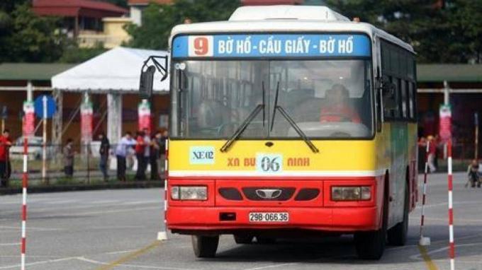 Tuyến xe buýt 09 có lộ trình tới lăng Bác thời gian mở và kết thúc chuyến muộn nhất từ 5h00 - 23h.  Ảnh minh họa.