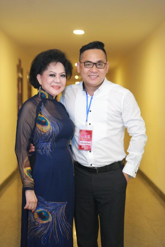 Ca sĩ Giao Linh.
