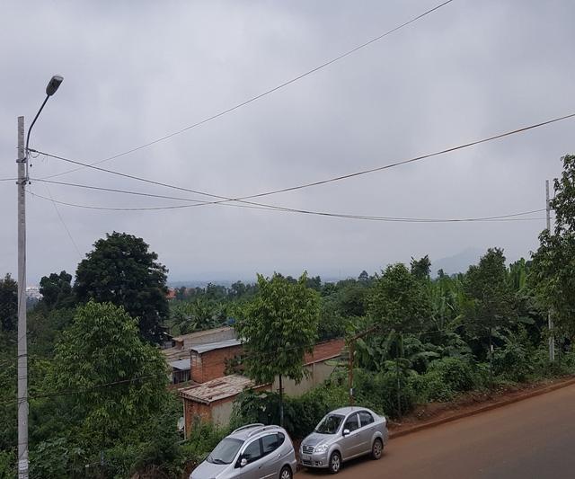 Một phần khu đất dự án nhìn từ trên cao