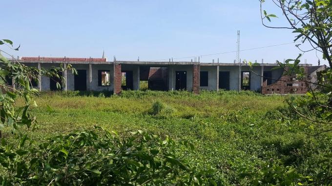 Trường mầm non xã Ân Hòa đã bỏ hoang nhiều năm nay