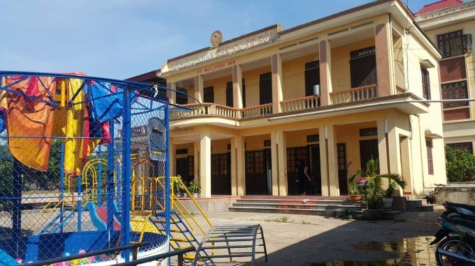 Trụ sở UBND xã biến thành trường mầm non suốt 3 năm nay.