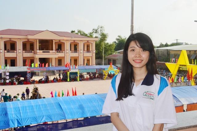 Đỗ Thị Phương Thảo đã tình nguyện làm đơn xin nhập ngũ năm 2017