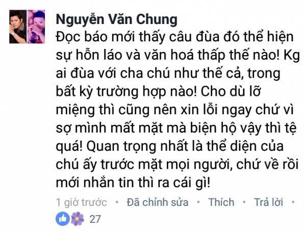 Nhạc sĩ Nguyễn Văn Chung. Ảnh: Saostar