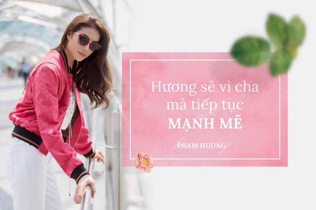 Hoa hậu Phạm Hương trải lòng sau biến cố lớn của cuộc đời