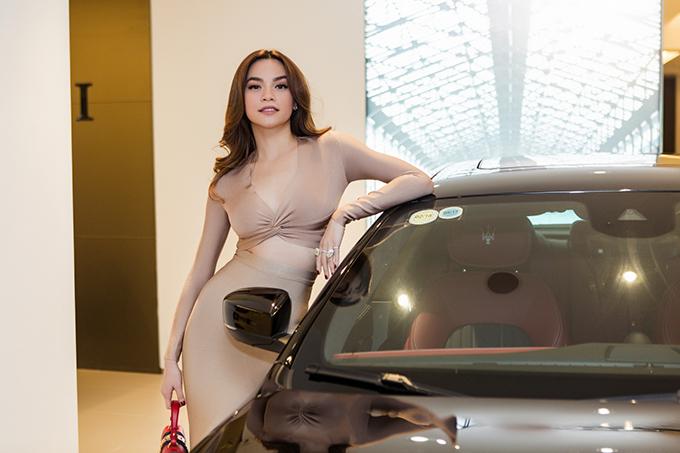 Cô là người duy nhất ở Việt Nam tính đến hiện tại sở hữu chiếc xe thuộc dòng này.Ảnh:Thành Luân