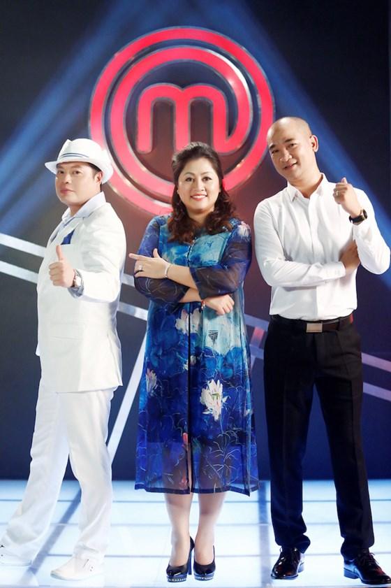 Bộ ba ban giám khảo năm nay. Ảnh:MasterChef Vietnam