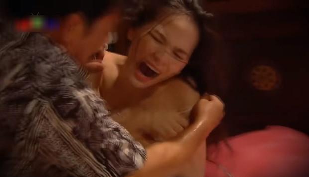 Phân đoạn gây tranh cãi của Quang Tèo trong trailer phim.
