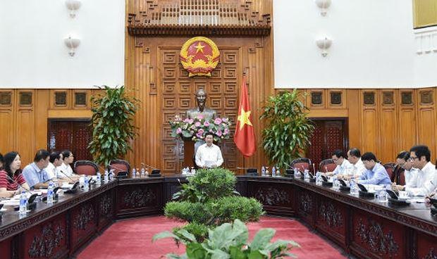 Phó Thủ tướng Phạm Bình Minh chủ trì cuộc họp với các Bộ, ngành liên quan về công tác chuẩn bị, tổ chức Hội nghị Diễn đàn Kinh tế thế giới về ASEAN.
