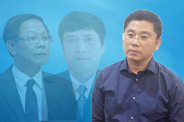 Bị can Nguyễn Văn Dương bìa phải.