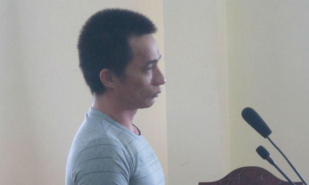 Bị cáo Dương Công Bỗ tại phiên tòa.