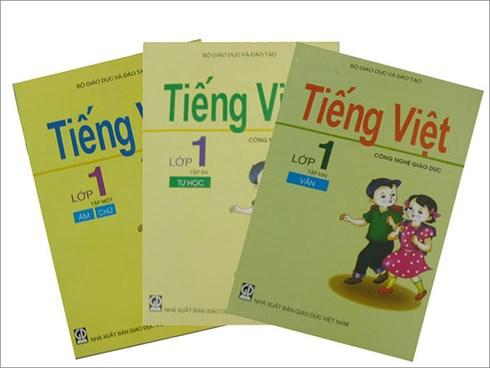 Bộ sách Tiếng Việt 1 công nghệ giáo dục.
