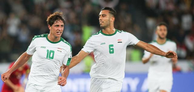 Iraq đã có chiến thắng đầy nhọc nhằn trước đội tuyển Việt Nam