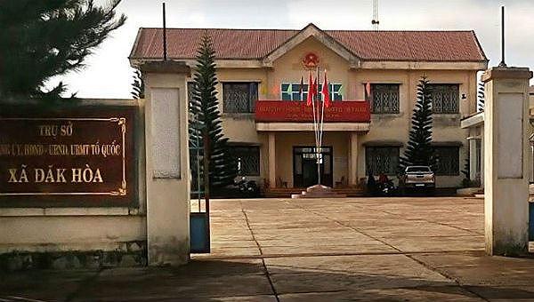 UBND xã Đắk Hòa
