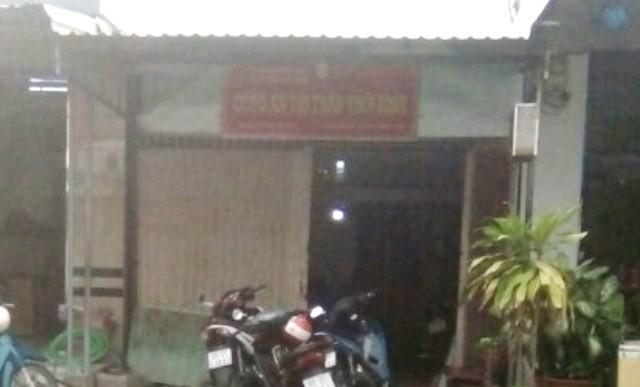 Trụ sở Công an thị trấn Thới Bình (huyện Thới Bình, tỉnh Cà Mau), nơi ông Nghị công tác. (Ảnh: CTV)