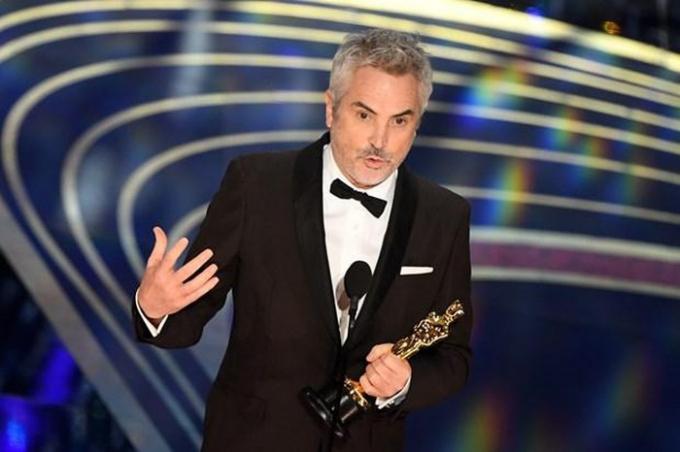 Alfonso Cuaron giành Oscar cho Đạo diễn xuất sắc nhất.