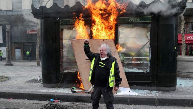 Một người biểu tình