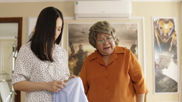 NSƯT Minh Vượng và diễn viên Lan Phương sẽ giải quyết những xích mích của 2 thế hệ như thế nào trong phim