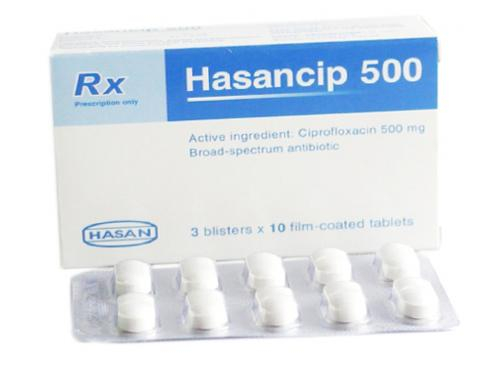 Thuốc Hasancip 500 được đính chính thông tin tại công văn duy trì hiệu lực Giấy đăng ký lưu hành.