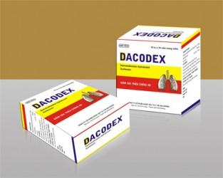 Thuốc Viên nang mềm Dacodex bị thu hồi