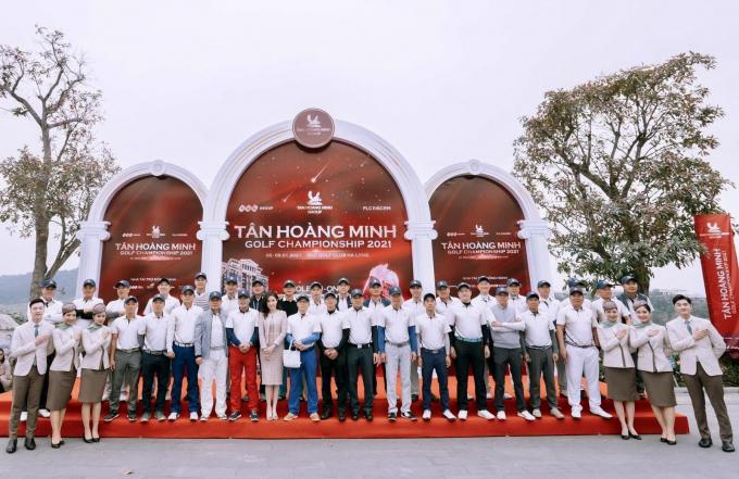 Hình ảnh: Tân Hoàng Minh Golf Championship 2021 chính thức khởi tranh số 1