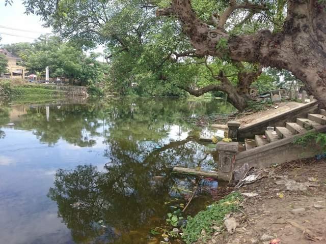 Bến sông nơi xảy ra vụ việc.
