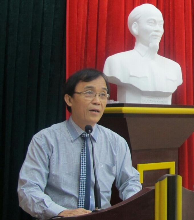 Luật gia Hoàng Ngọc Thanh - Chủ nhiệm Hội đồng tư vấn dân chủ pháp luật thuộc Ủy ban MTTQ Việt Nam tỉnh Thừa Thiên - Huế. (Ảnh: internet)