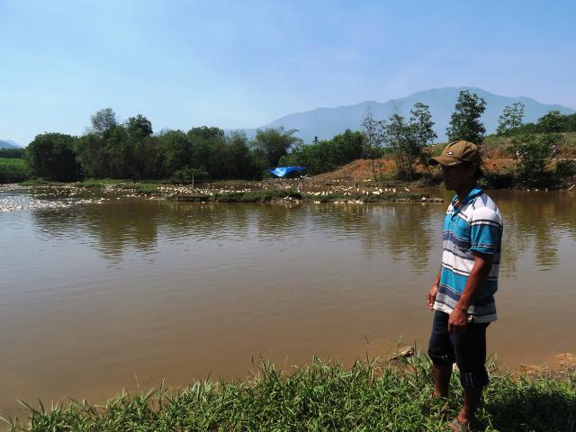 Trại nuôi vịt ở (xã Lộc An, huyện Phú Lộc) bị nhiễm H5N6.