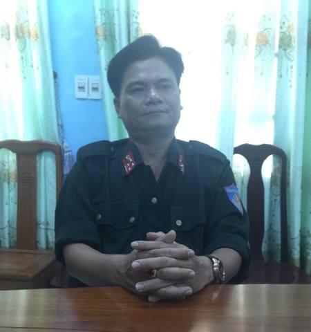 Đại úy Đỗ Thanh Long cho hay: