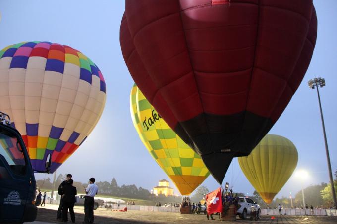 Lễ hội Khinh khí cầu diễn ra tại Huế.