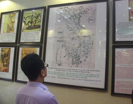 Một số bản tư liệu quý giá khẳng định Hoàng Sa, Trường Sa là của Việt Nam. (Ảnh: AK)