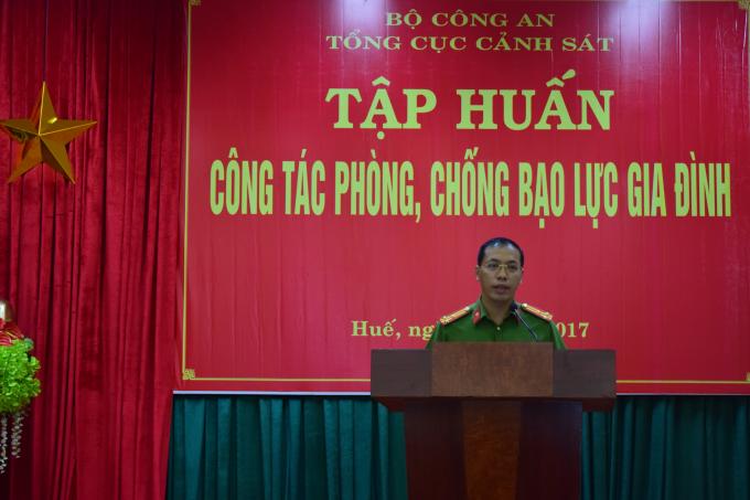 Lớp tập huấn diễn ra tại tỉnh Thừa Thiên Huế.