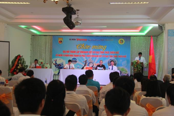 VOVINAM - Việt võ đạo tỉnh Thừ Thiên - Huế dần khẳng định vị thế và khả năng của mình sau 10 năm hoạt động.
