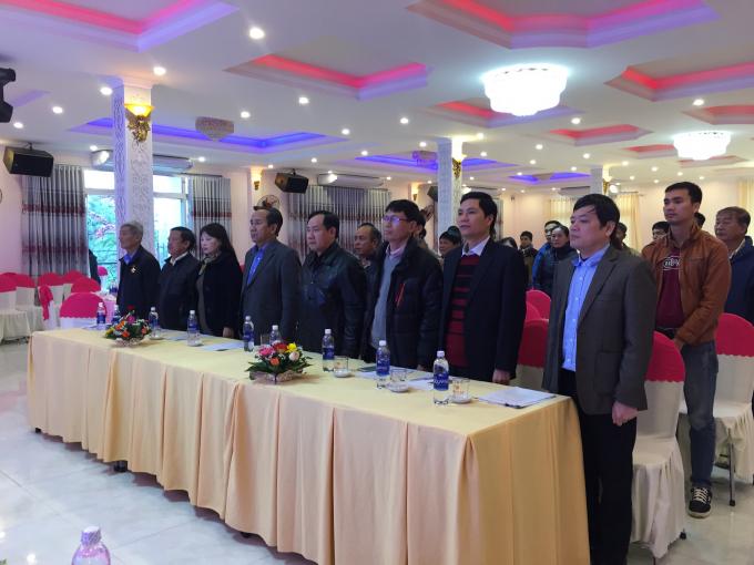 Các đại biểu đến tham dự Đại hội.