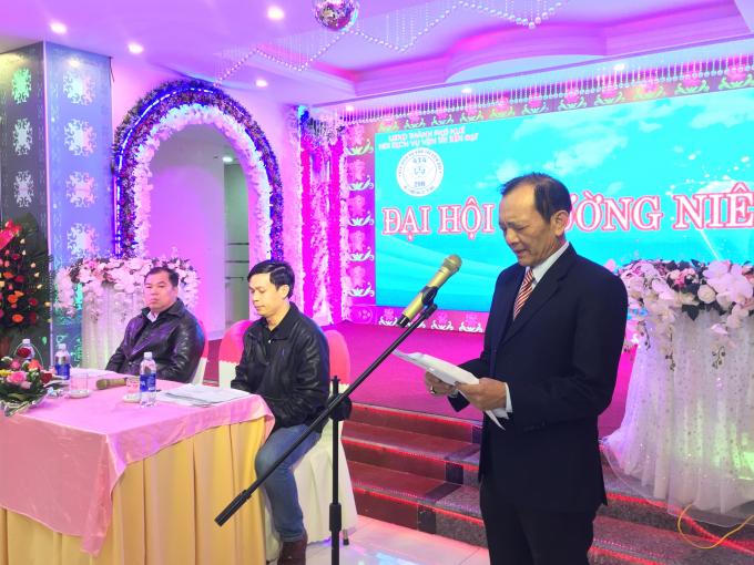 Ông Lê Nam - Giám đốc HTX Dịch vụ Vận tải Tiến Đạt -
