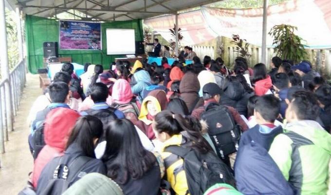 Tổ chức Hội thảo tại trường THPT Bình Điền (Hương Trà- Thừa Thiên Huế)