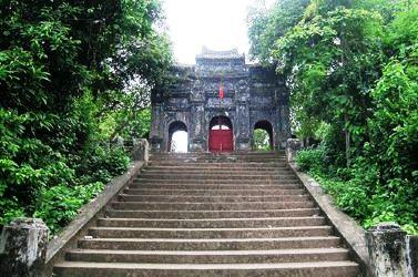 Chùa Báo Quốc - một trong những ngôi chùa cổ bật nhất xứ Huế (ảnh internet )