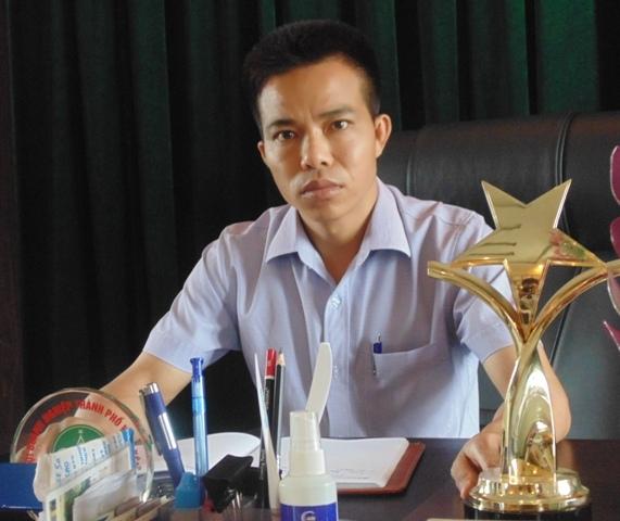 GĐ HTX Vật liệu xây dựng Tuổi trẻ Đặng Quang Tùng