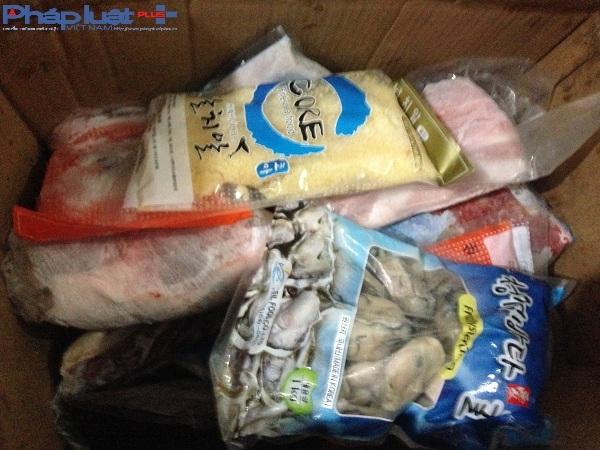 Hà Nội: Bắt quả tang hơn 5 tấn hải sản đang bị phân hủy