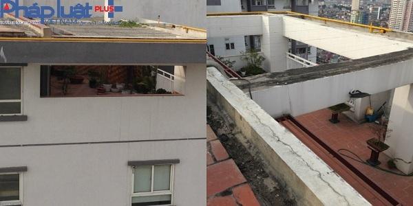 Tầng 25 của hai dãy tòa nhà đã đi vào hoạt động.