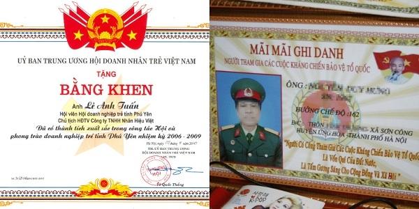 Sự khác biệt giữa bằng thật và bằng do Công ty Cổ phần ngành ảnh Việt Nam làm.