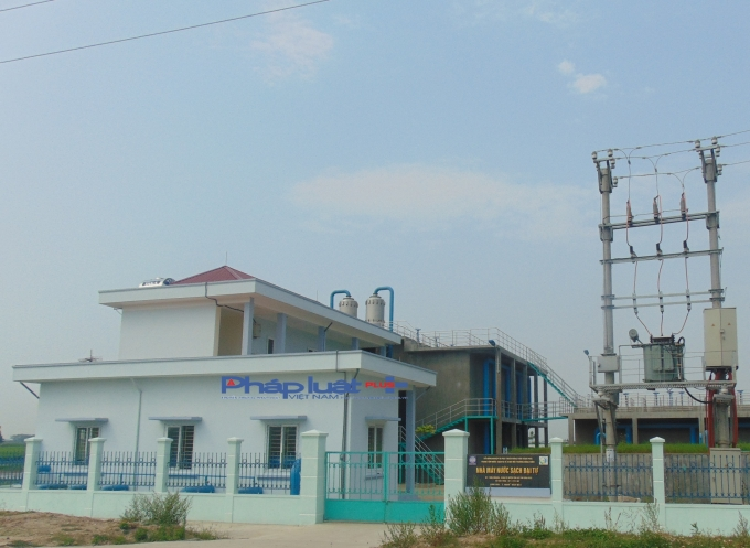 Nhà máy nước sạch