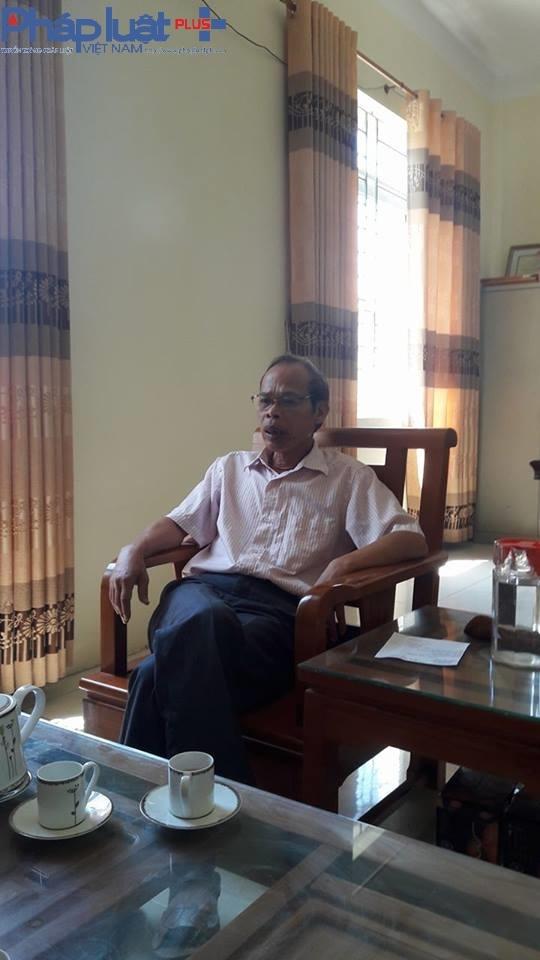 ÔngLưu Văn Bộ - Phó GĐ Trung tâm nước sạch và vệ sinh môi trường nông thôn Vĩnh Phúc.