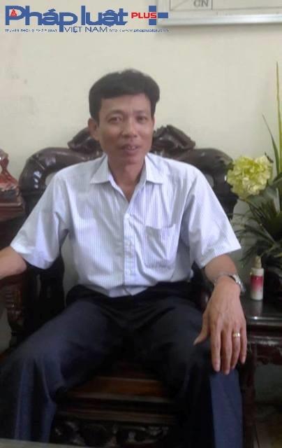 Ông Nguyễn Thái Dũng - PCT UBND Thị trấn Yên Lạc