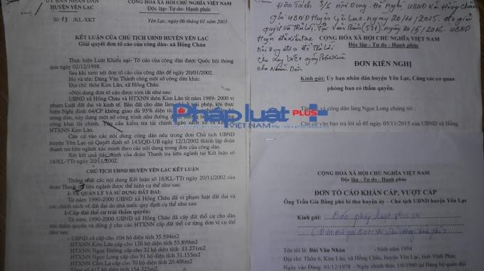 Kết luận số 13 của UBND huyện Yên Lạc