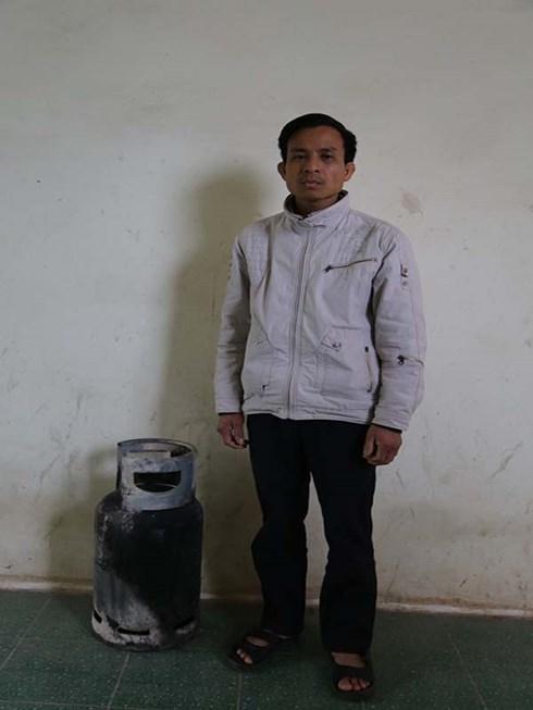Đối tượng Nguyễn Văn Tám bị bắt giữ