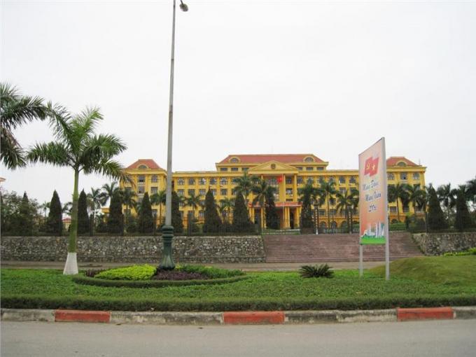 Trụ sở UBND tỉnh Vĩnh Phúc