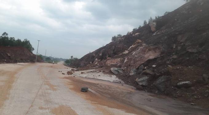 Dự án đương từ cầu Bì La đi thị trấn Lập Thạch.
