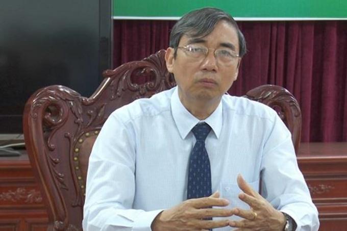 Ông Hoàng Minh Quân - Giám đốc Sở GD&ĐT tỉnh Vĩnh Phúc.