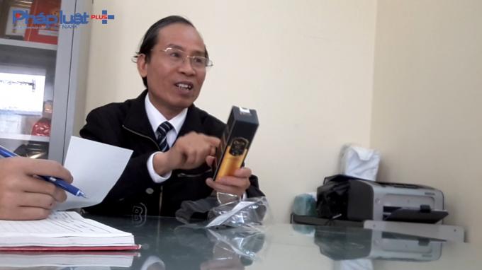 Ông Nguyễn Đình Trình - Chánh Thanh tra Sở Y tế TP Hải Phòng.